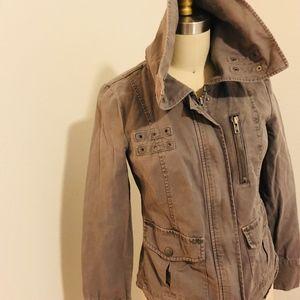 Trouve Grey Utility Jacket